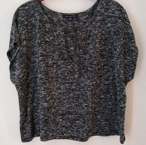 American Eagle Outfitters Black Oversized Tunic XS